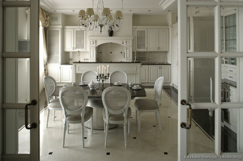 pictures of kitchens - traditional - white kitchen cabinets (page 6)