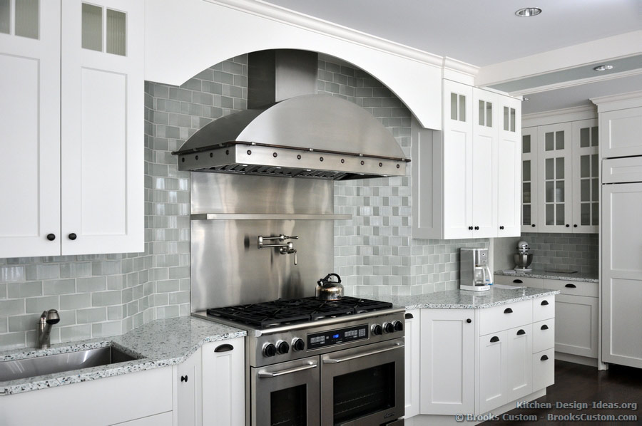 Kitchen Backsplash Ideas With White Cabinets 28 images Kitchen