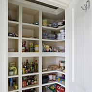 Walk-In Pantry by Woodale Designs