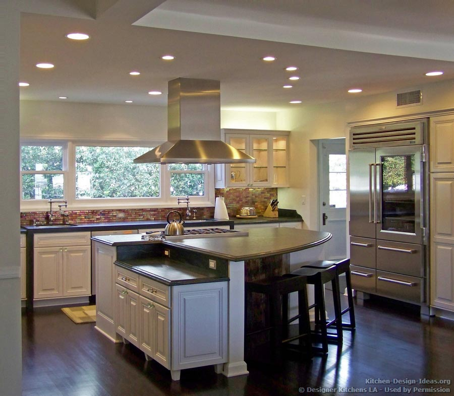 Kitchen With Living Room Design: Pictures Of Kitchen Remodels