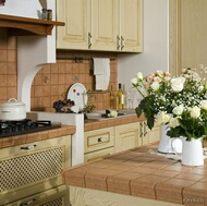 Traditional Whitewash Kitchen