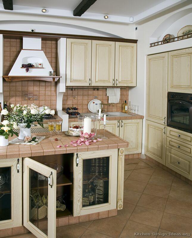 Whitewashed Cabinets
