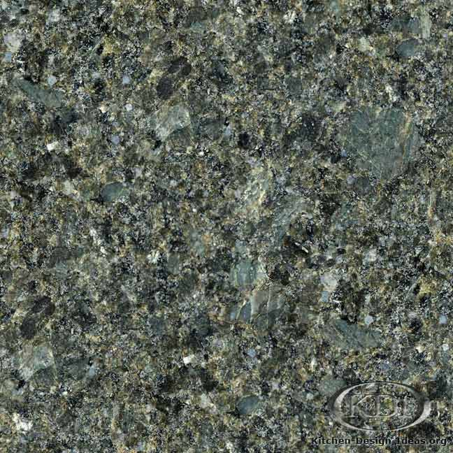 Laurentian Green Granite Kitchen Countertop Ideas