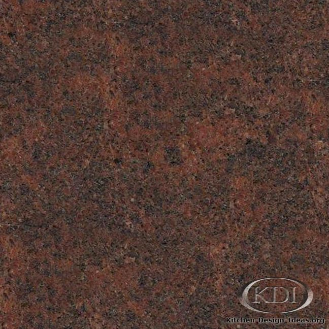 Lieto Red Granite - Kitchen Countertop Ideas