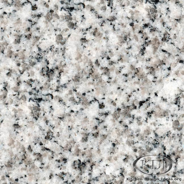 Light Colors For Granite Countertops : Light grey granite kitchen countertop ideas