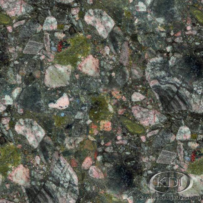 Marinace Verde Granite Kitchen Countertop Ideas