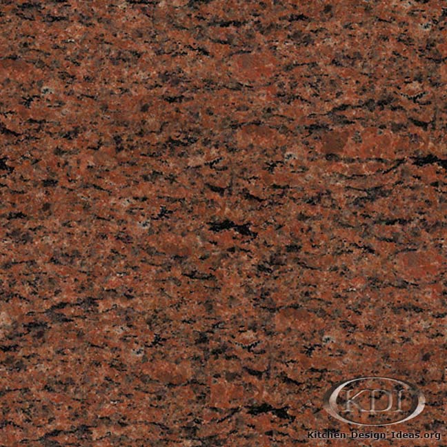 Napoleon Red Granite - Kitchen Countertop Ideas