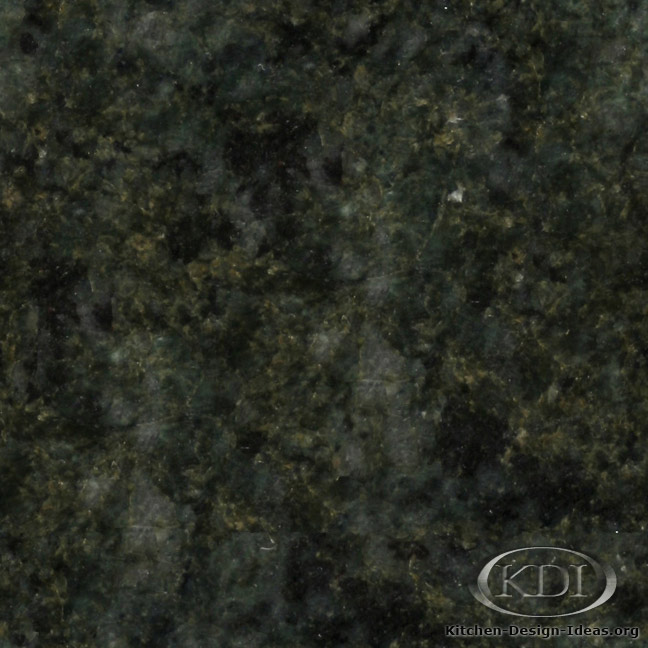 Ocean Green Granite Kitchen Countertop Ideas