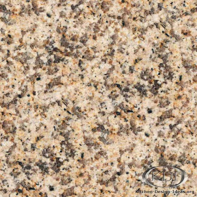 Padang Yellow Granite - Kitchen Countertop Ideas