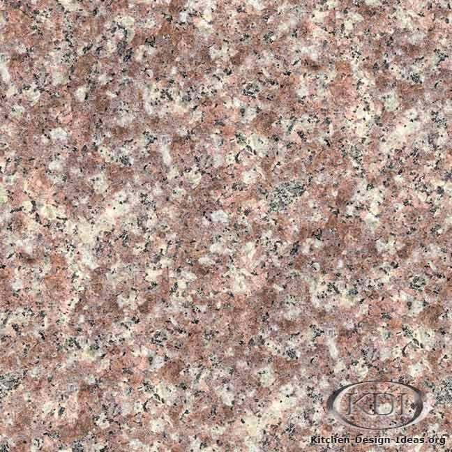 Peach Purse Granite Kitchen Countertop Ideas