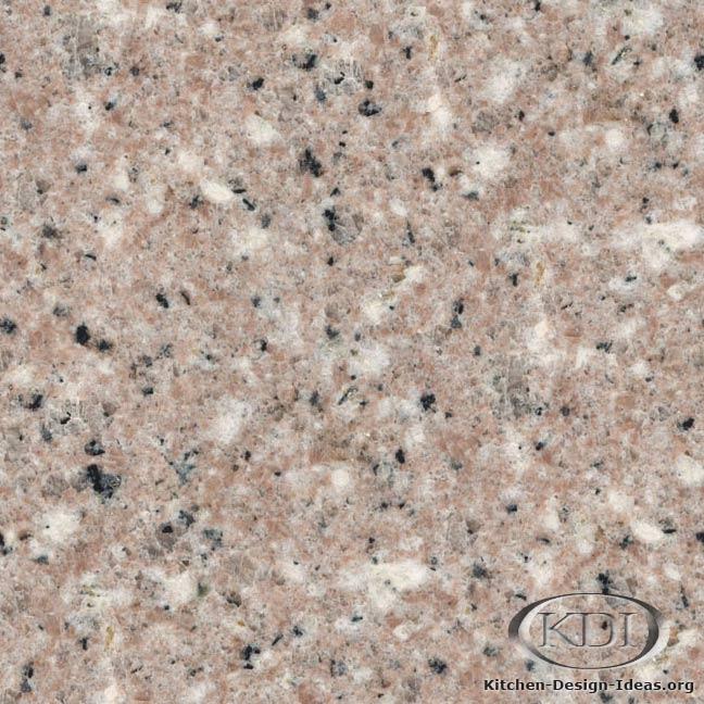Almond Pink Granite Kitchen Countertop Ideas