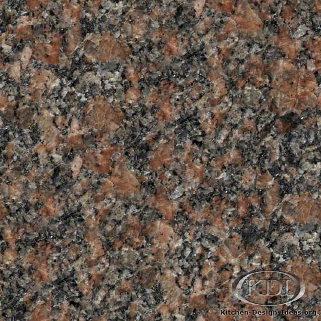 Red Deer Brown Granite