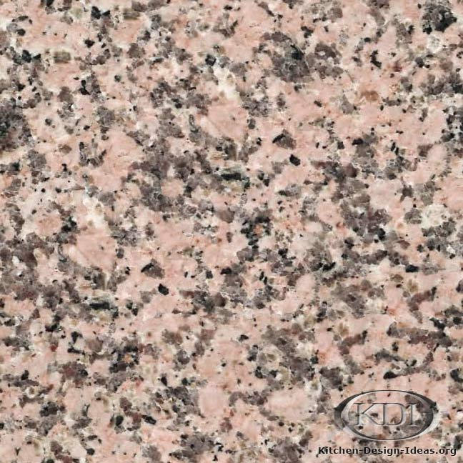Light Pink Granite Kitchen Countertop Ideas