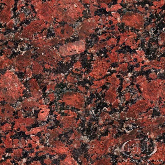 Rosso Santiago Granite