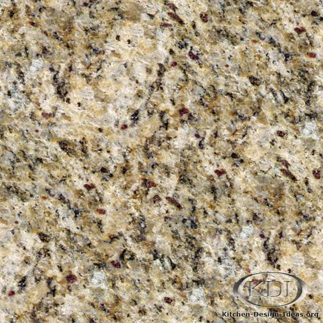 Ouro Brazil Granite Kitchen Countertop Ideas