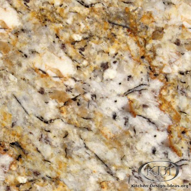 Silver and Gold Granite
