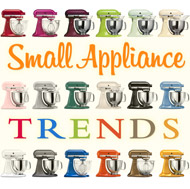 Small Appliance Trends: Spicing Up Kitchens with Color & Style