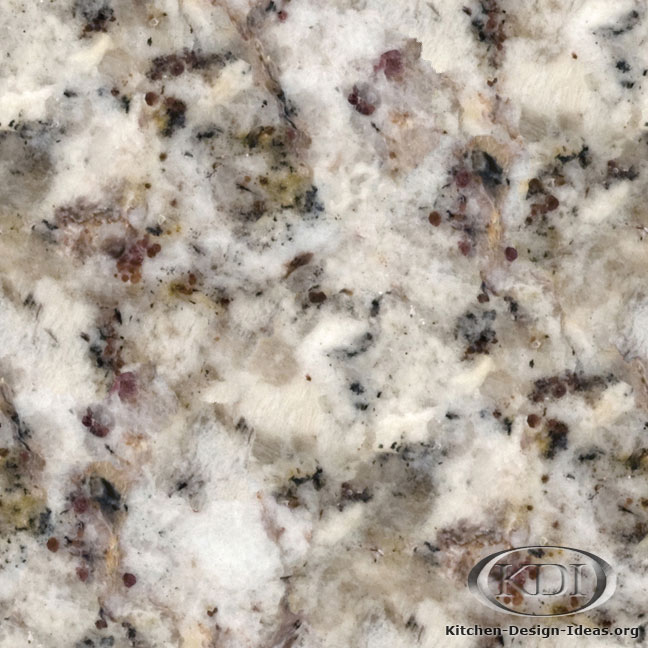 Spring White Granite Kitchen Countertop Ideas