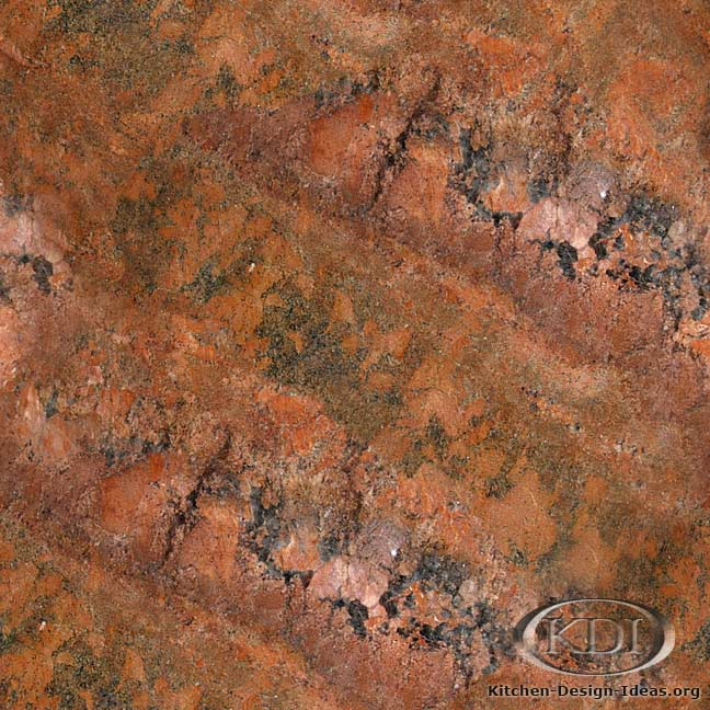 Sunset Red Granite : Sunset red granite kitchen countertop ideas