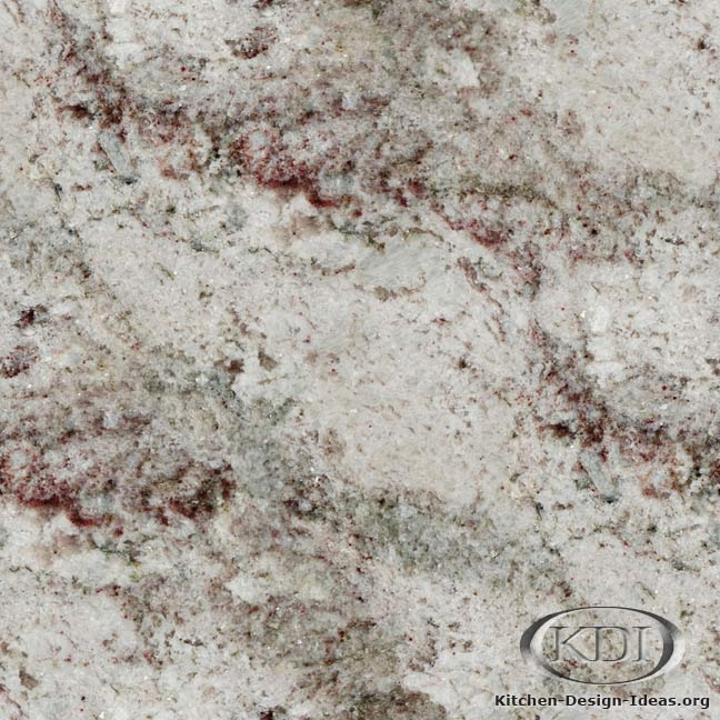 Taupe White Granite - Kitchen Countertop Ideas