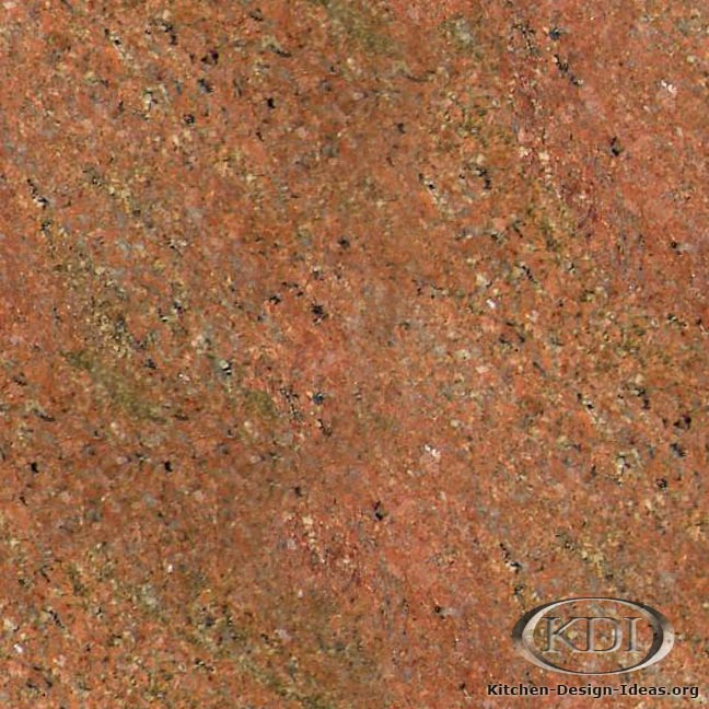 Terracotta Granite Kitchen Countertop Ideas