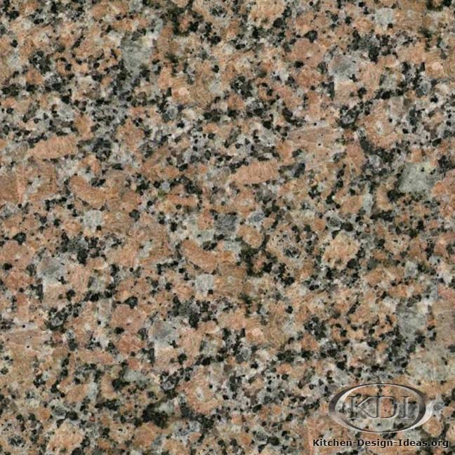 Texas Pink Granite Kitchen Countertop Ideas