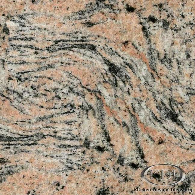 Tiger Skin Granite Kitchen Countertop Ideas