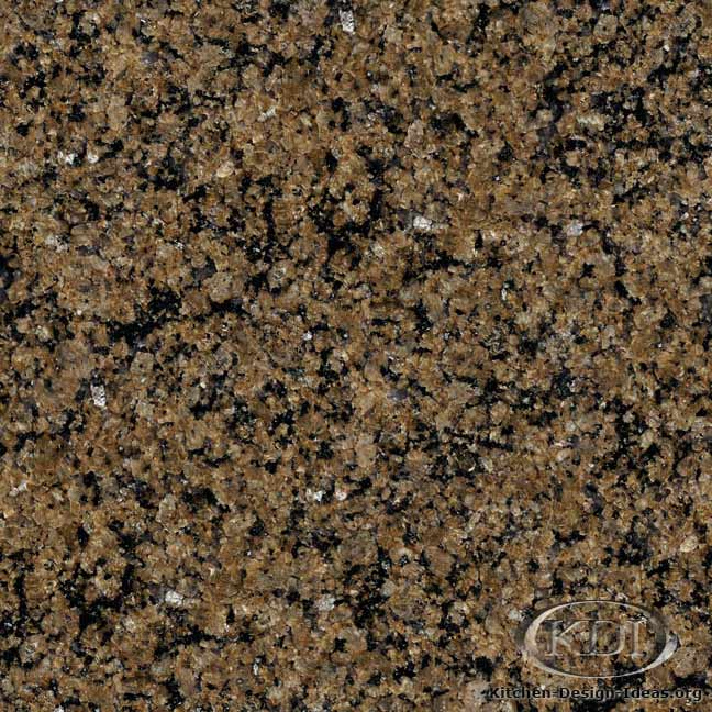 Tropical Brown Granite - Kitchen Countertop Ideas