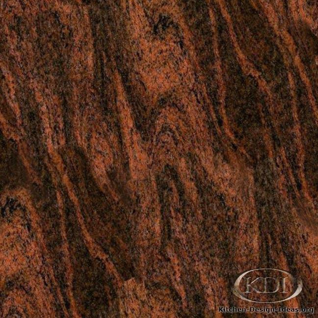 Red Granite Countertops Kitchen: Kitchen Countertop Ideas