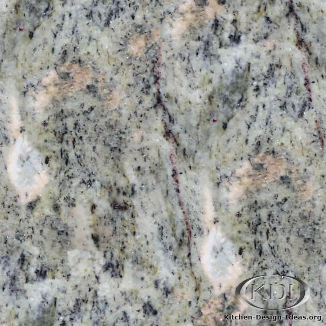 Typhoon Lime Green Granite. Kitchen Countertop ...