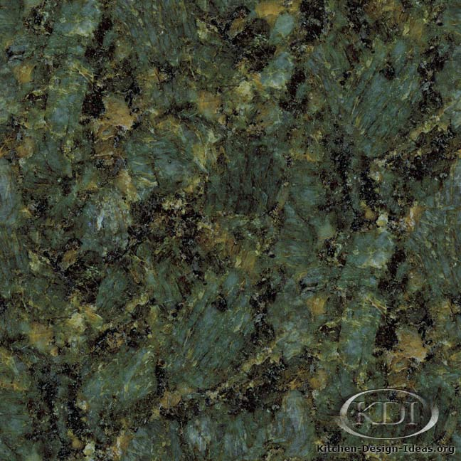 Verde Peacock Granite - Kitchen Countertop Ideas