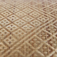 Handwoven Cabinet Panel Inserts by Wabbani