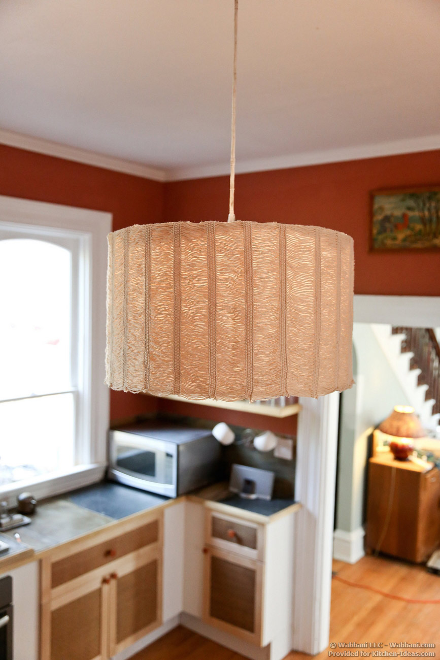 Handwoven Kitchen Lampshade by Wabbani