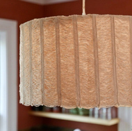 Handwoven Kitchen Lamp Shade by Wabbani