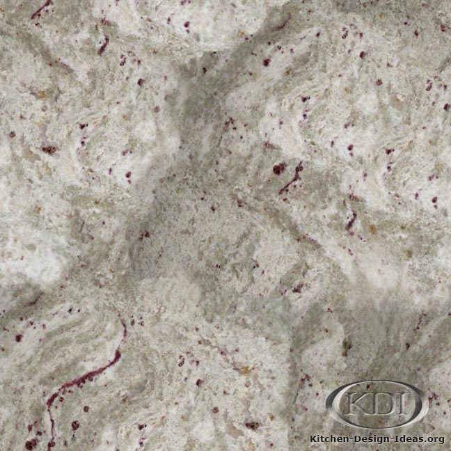 White Andromeda Granite - Kitchen Countertop Ideas