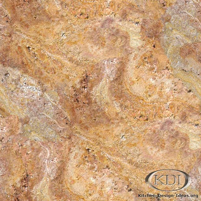 Yellow Red Granite. Kitchen Countertop ...